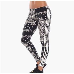 Adidas Women's Print leggings tights XS